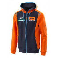 Replica team zip hoodie